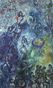 """Dance"" by Marc Chagall"