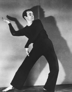 Charles Weidman exploring kinetic pantomime.